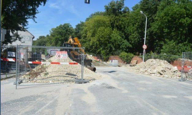 Road works have restarted!