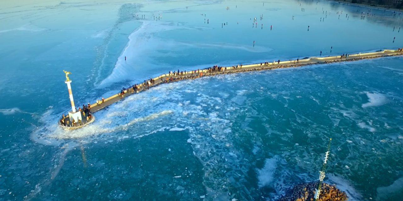 Frozen Lake Balaton Insite P 225 Pa Finding Your Way Around