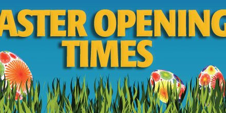 Heads up! Opening hours for Easter weekend