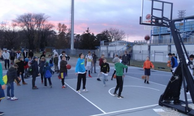 New streetball court can be used by anyone in Pápa