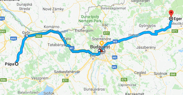 Explore the wine region – Eger