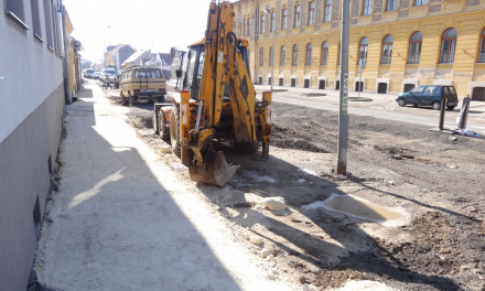 Road closures extended for the Szalmavári street area