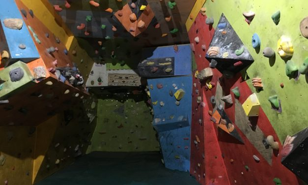 Practice Indoor Climbing in Gyor