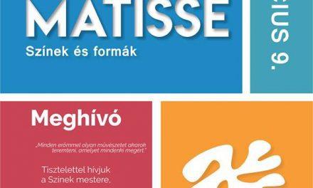 Matisse exhibition to open in Esterházy Castle