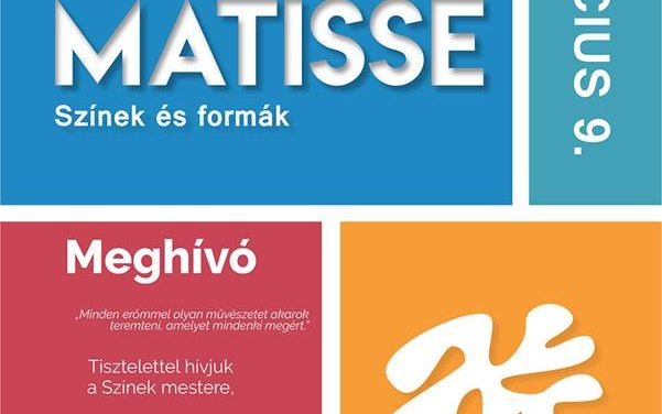 Matisse exhibition to open in Esterházy Castle