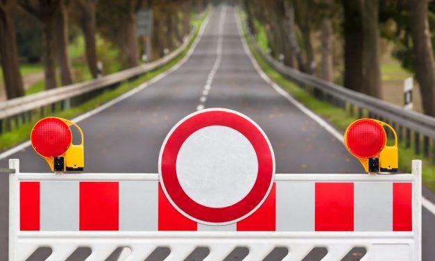 Temporary road blocks in Pápa this weekend