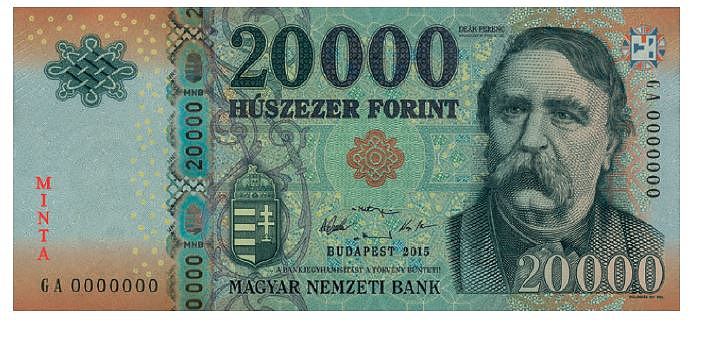 Old 20 000 banknotes withdrawn from 1st January, 2018