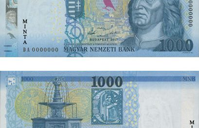 New 1000 HUF banknotes