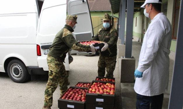Entrepeneur donates 10 tons of apples to HDF