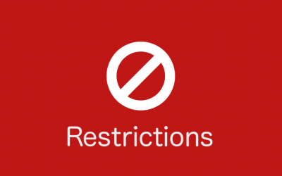Restriction of movement – Government Decree