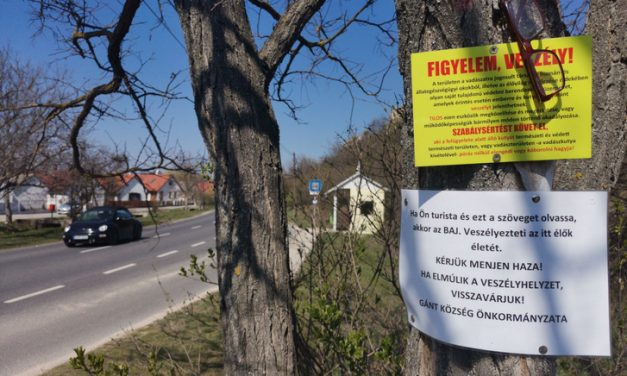 Restrictive measures in some Hungarian towns