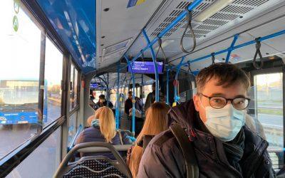 Wearing masks – mandatory in Budapest