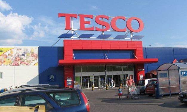 Tesco limits number of people allowed inside