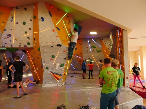 Indoor wall-climbing